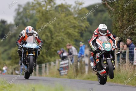 Editorial picture of Armoy Road Races, Motorbike Racing, Armoy, UK - 31 Jul 2021