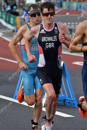 BROWNLEE Jonathan (GBR) -  Men's Individual Triathlon during the Tokyo 2020 Olympic Games at Odaiba Marine Park in Tokyo, Japan.