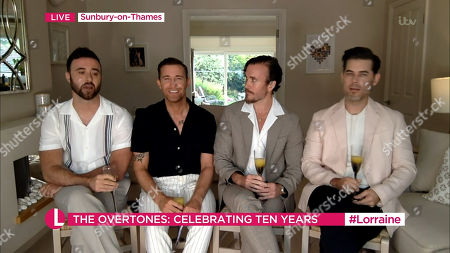 The Overtones The Overtones - Jay James, Mike Crawshaw, Darren Everest and Mark Franks
