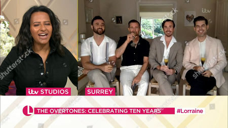 Editorial photo of 'Lorraine' TV Show, London, UK - 30 Jul 2021
