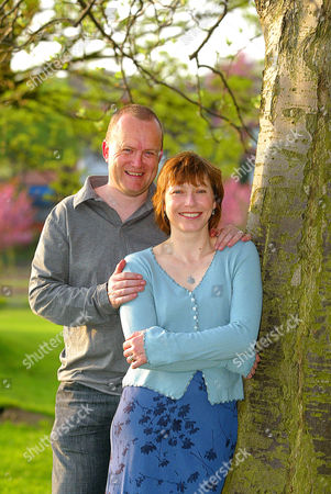 Jane Tomlinson and her husband Mike