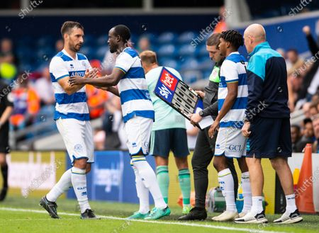 Editorial picture of Queens Park Rangers v Leicester City, Pre-season Friendly, Football, The Kiyan Prince Foundation Stadium, London, UK - 31 July 2021