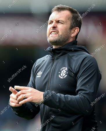 Nathan Jones manager of Luton Town