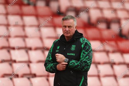 Stoke's manager, Michael O'Neill