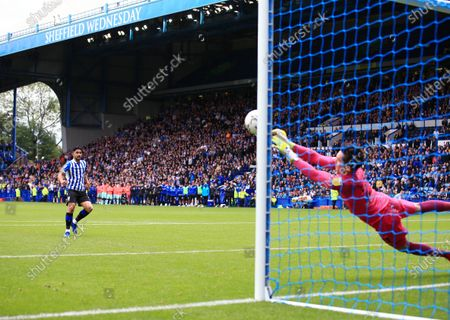 Editorial image of Sheffield Wednesday v Huddersfield Town, Carabao Cup, First Round, Football, Hillsborough, Sheffield, UK - 1 August 2021