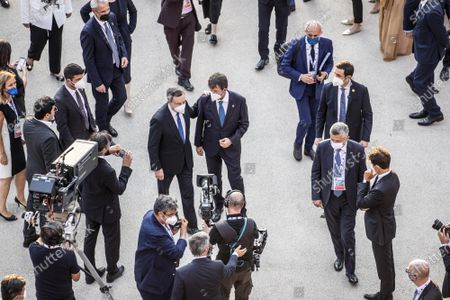 Editorial photo of G20 meeting of the Ministers of Culture in the Colosseum, Rome, Italy - 29 Jul 2021