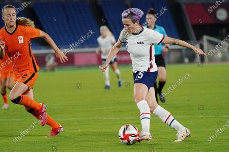 Megan Rapinoe - Netherlands v USA Women's Quarter-final football match