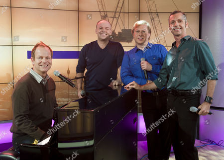 Stock Picture of 4 Poofs and a Piano - Ian Parkin, Stephen de Martin, David Roper and David Wickenden