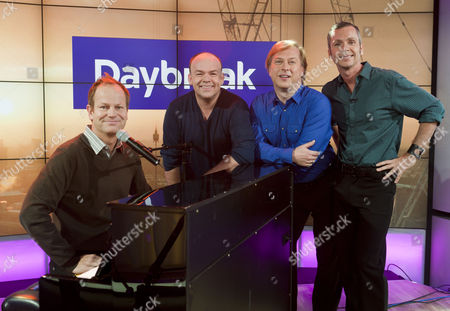 Stock Photo of 4 Poofs and a Piano - Ian Parkin, Stephen de Martin, David Roper and David Wickenden