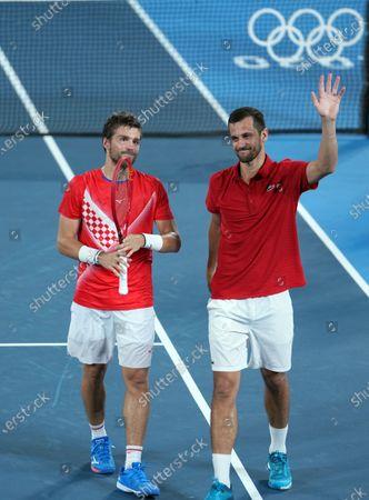 Editorial photo of Japan Tokyo Oly Tennis Men's Doubles - 30 Jul 2021