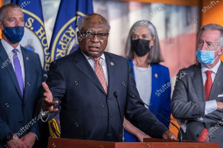 Editorial picture of House Democratic Leaders press conference, Washington DC, USA - 30 Jul 2021