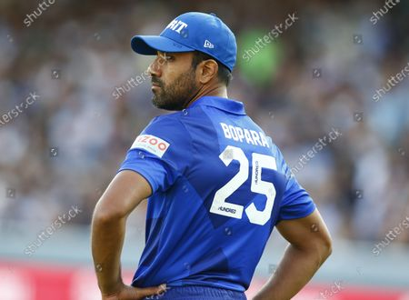 Stock Picture of Mohammad Amir of London Spirit during The Hundred between London Spirit Men and Trent Rockets Men at Lord's Stadium , London, UK on 29th July 2021