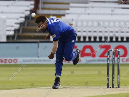 Mohammad Amir of London Spirit during The Hundred between London Spirit Men and Trent Rockets Men at Lord's Stadium , London, UK on 29th July 2021