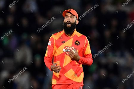 Moeen Ali of Birmingham Phoenix during the The Hundred match between Southern Brave and Birmingham Phoenix Men at the Ageas Bowl, Southampton