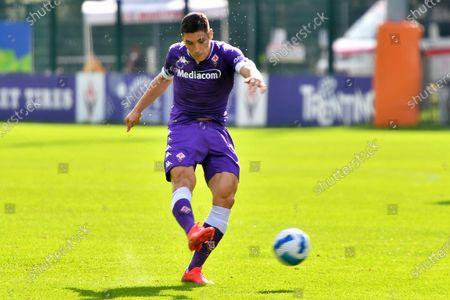 Friendly match A.c.f. Fiorentina vs Virtus Verona - Nikola Milenkovic