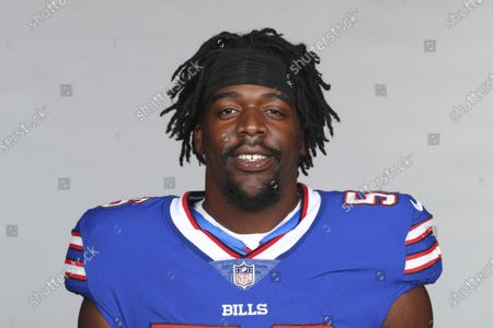 This is a 2021 photo of Mike Love of the Buffalo Bills NFL football team. This image reflects the Buffalo Bills active roster as of when this image was taken