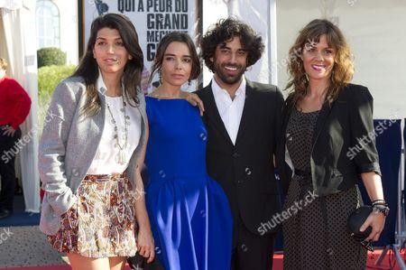 director Zeina Durra, Elodie Bouchez, Marianna Kulukundis and Karim Saleh