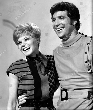 Stock Picture of Tom Jones and Shani Wallis
