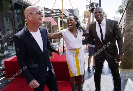 Editorial image of Terry Crews Honored With a Star on the Hollywood Walk of Fame, Los Angeles, United States - 30 Jul 2021
