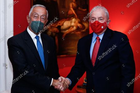 Editorial photo of President of Portugal Marcelo Rebelo de Sousa visits Brazil, Sao Paulo - 30 Jul 2021