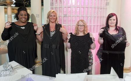 Stock Picture of Alison's Black Dress Bootcamp Launch - Alison Hammond, Gaynor Welsby West and Debbie Gillies