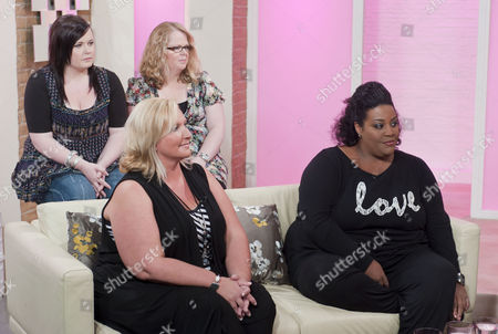 Stock Photo of Alison's Black Dress Bootcamp Launch - Alison Hammond, Gaynor Welsby West and Debbie Gillies