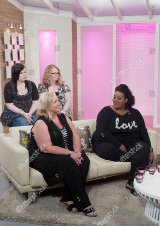 Stock Image of Alison's Black Dress Bootcamp Launch - Alison Hammond, Gaynor Welsby West and Debbie Gillies