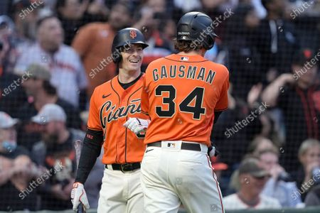 Editorial image of Astros Giants Baseball, San Francisco, United States - 30 Jul 2021