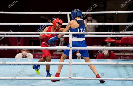 Editorial photo of Olympics Boxing, Tokyo, Japan - 31 Jul 2021