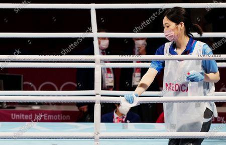 Editorial image of Olympics Boxing, Tokyo, Japan - 31 Jul 2021