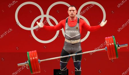 Editorial photo of Olympic Games 2020 Weightlifting, Tokyo, Japan - 31 Jul 2021