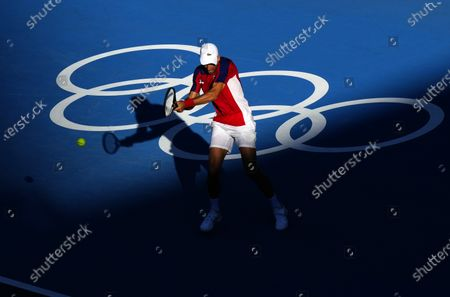 Editorial picture of Tennis, Ariake Tennis Park, Tokyo Olympic Games 2020, Japan - 31 Jul 2021