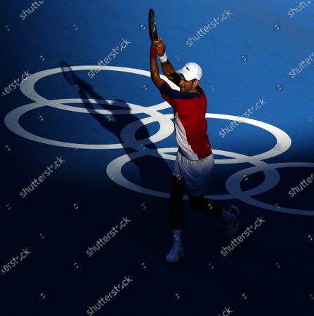 Editorial photo of Tennis, Ariake Tennis Park, Tokyo Olympic Games 2020, Japan - 31 Jul 2021