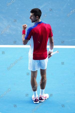 Editorial image of Tennis, Ariake Tennis Park, Tokyo Olympic Games 2020, Japan - 31 Jul 2021