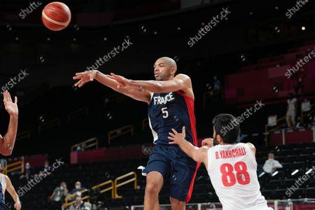 Editorial image of Iran V France, Men's Basketball, Tokyo 2020 Olympic Games, Saitama, Japan - 31 Jul 2021