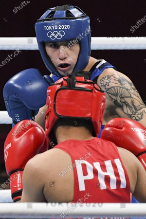 Editorial picture of Olympic Games 2020 Boxing, Tokyo, Japan - 31 Jul 2021