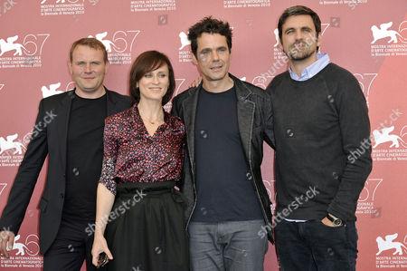 Devid Striesow, Sophie Rois, Tom Tykwer, Sebastian Schipper
