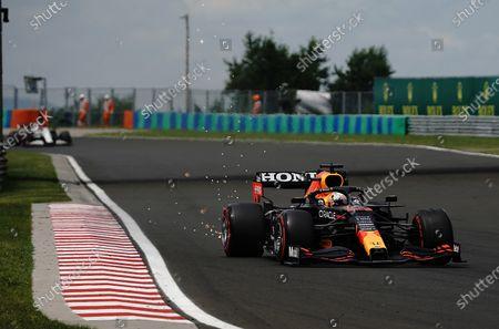Stock Photo of Max Verstappen (NEL #33), Red Bull Racing Honda