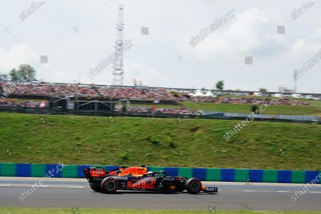 Editorial picture of F1 Hungarian Grand Prix, Qualifying, Budapest, Hungary - 31 Jul 2021