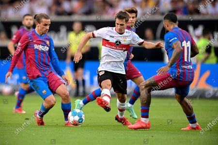Editorial picture of VfB Stuttgart vs FC Barcelona, Germany - 31 Jul 2021