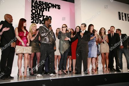 Editorial image of 'Fashion Night Out' Opening Ceremony, The Beverly Center, Los Angeles, America - 10 Sep 2010