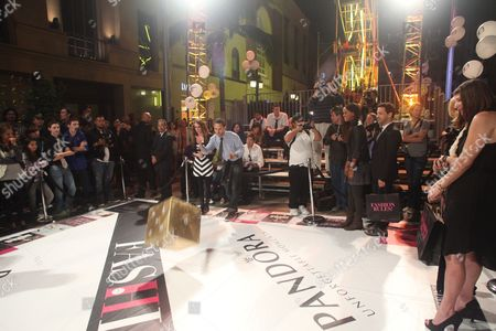 Editorial photo of Pandora Presents the Life-Sized 'Fashion Rules' Game on Rodeo Drive for Fashion's Night Out, Beverly Hills, Los Angeles, America - 10 Sep 2010