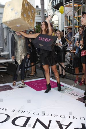 Editorial picture of Pandora Presents the Life-Sized 'Fashion Rules' Game on Rodeo Drive for Fashion's Night Out, Beverly Hills, Los Angeles, America - 10 Sep 2010