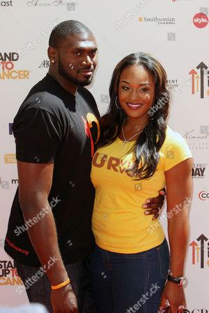 NBA player Jason Maxiell and Brandi Maxiell