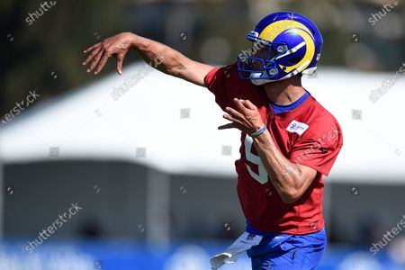 Editorial picture of Rams Football, Irvine, United States - 31 Jul 2021