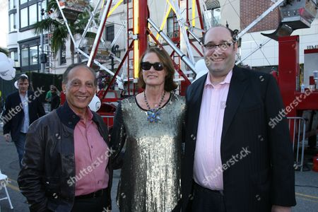 Mayor Jimmy Delshad, Lisa Love and Tom Blumenthal