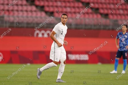 Winston Reid (NZL) - Football / Soccer : Tokyo 2020 Olympic Games Men's football Quarter-finals match between Japan 0-0 (4-2 PSO) New Zealand at the Ibaraki Kasima Stadium in Ibaraki, Japan.