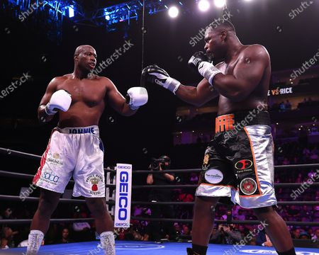 Editorial picture of Fox Sports PBC Fight Night, Coffie vs Rice, Newark, USA - 31 Jul 2021