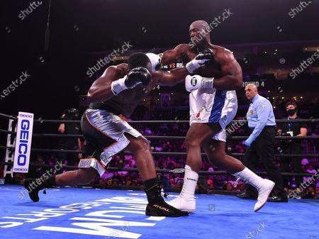 Editorial image of Fox Sports PBC Fight Night, Coffie vs Rice, Newark, USA - 31 Jul 2021