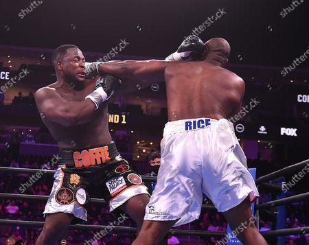 Editorial photo of Fox Sports PBC Fight Night, Coffie vs Rice, Newark, USA - 31 Jul 2021